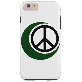 Islamic Muslim Symbol with Peace Sign Tough iPhone 6 Plus Case