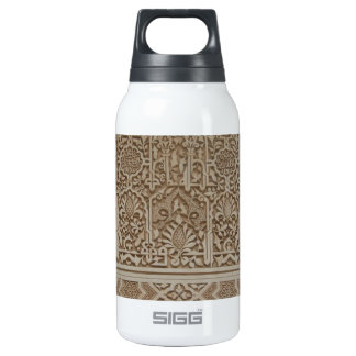 Islamic Patterns in the Alhambra, Andalusia, Spain Insulated Water Bottle