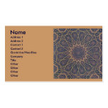 Islamic Print Business card.