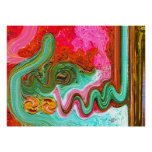 Islamic Products 99  Allah names paintings Print