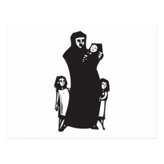 Islamic Refugee Postcard
