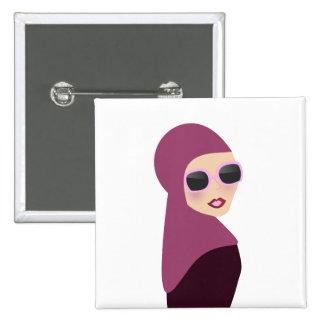 Islamic scarf muslima hijab lady style button