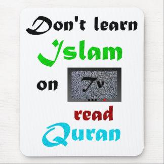 Islamic Slogan Mouse Pad