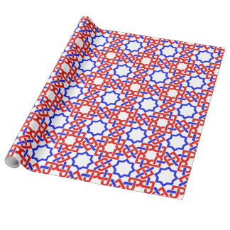 Islamic Star Wrapping Paper
