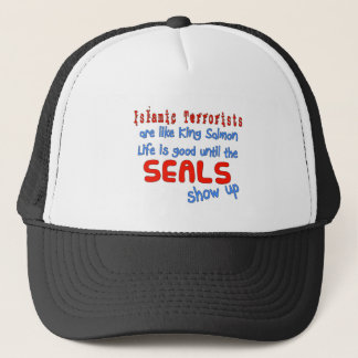 Islamic Terrorists Are Like King Salmon Trucker Hat