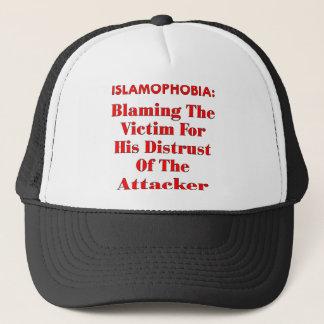 Islamophobia Blaming The Victim For His Distrust Trucker Hat