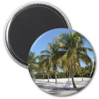 Islamorada Florida 2 Inch Round Magnet