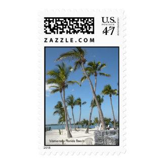 Islamorada Florida Beach Stamp