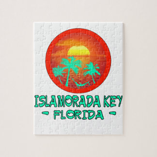 ISLAMORADA KEY FL TROPICAL DESTINATION JIGSAW PUZZLE