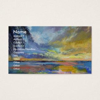 Islamorada Sunset Business Card