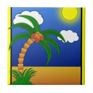 island-41170 island palm tree cartoon media clip p tile
