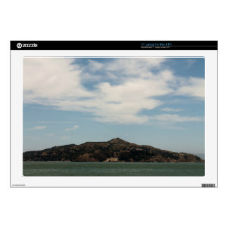 """Island Across The Bay 17"""" Laptop Decal"""