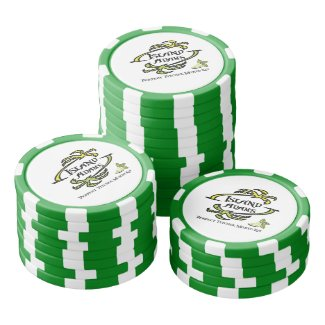 Island Adam Poker Chips