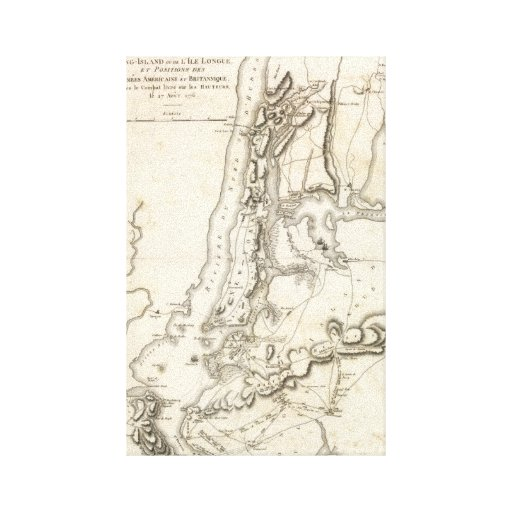 Island and New York Positions Canvas Print