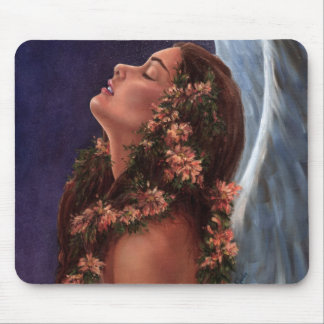 Island Angel Mouse Pad
