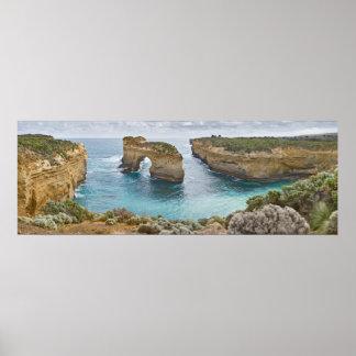 Island Archway Great Ocean Rd Victoria Australia Poster