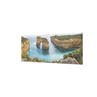Island Archway @ Loch Ard Gorge Victoria Australia Canvas Print