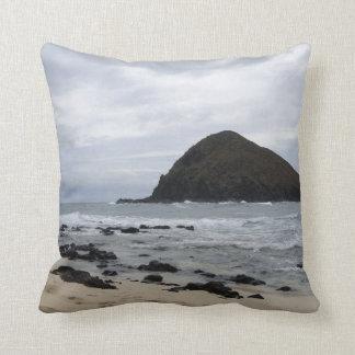 Island at Sea Throw Pillow
