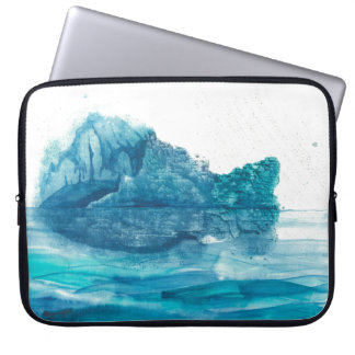 Island at the Edge of the World Laptop Sleeve