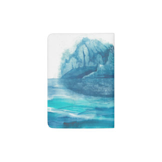 Island at the Edge of the World Passport Holder