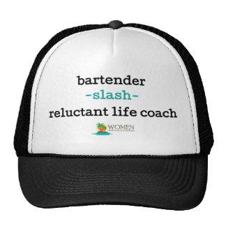 Island Bartender's Cap (black) Trucker Hat