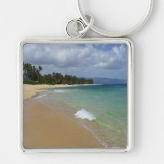 Island Beach Keychain