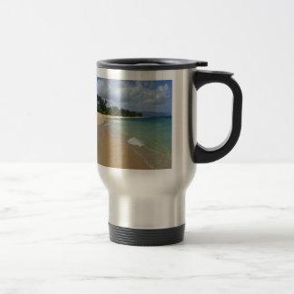 Island Beach Travel Mug