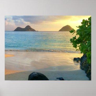 Beach Themed Island Beauty Poster
