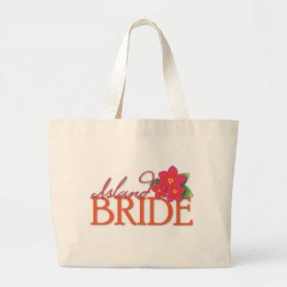 Island Bride Jumbo Tote Bag