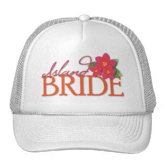 Island Bride Mesh Hat