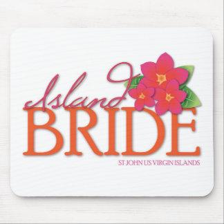 Island Bride St John Mouse Pad