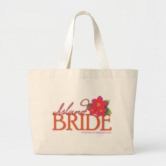 Island Bride St Thomas Jumbo Tote Bag