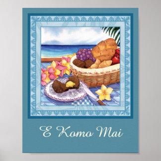 Island Cafe - Breakfast Lanai Poster