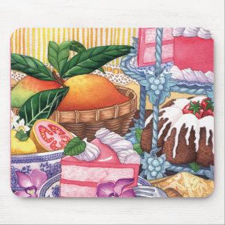Island Cafe - Guava Chiffon Desert Mouse Pad