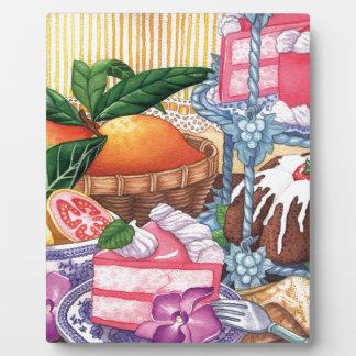 Island Cafe - Guava Chiffon Desert Plaque