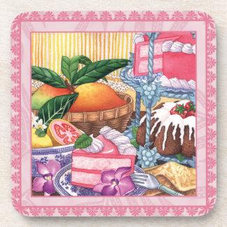 Island Cafe Guava Chiffon & Mango Beverage Coaster