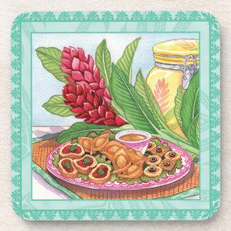 Island Cafe Pupus Drink Coaster