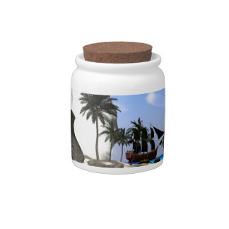 Island Candy Dishes
