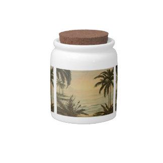 Island Candy jar