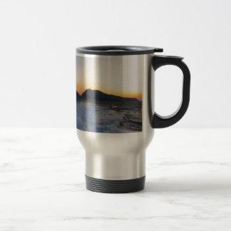 Island Capri at Sunset Travel Mug