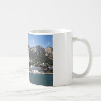 Island Capri panoramic Sea view Coffee Mug