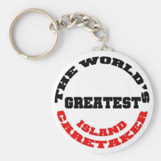 Island Caretaker Keychains