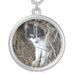 Island Cat at St. John Silver Plated Necklace