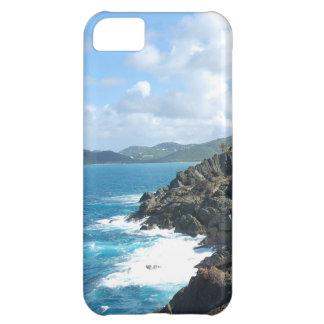 island coastline iPhone 5C cases