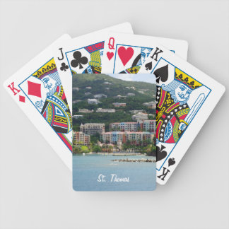 Island Color Bicycle Playing Cards