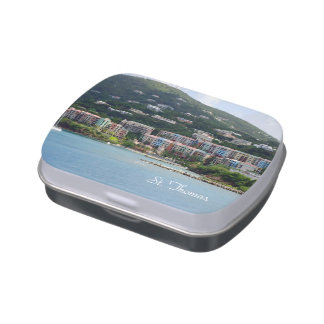 Island Color Candy Tins