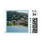 Island Color Postage Stamp