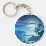 island cove-Hawaii Keychain