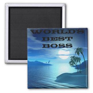 island cove -Worlds Best Boss Magnet