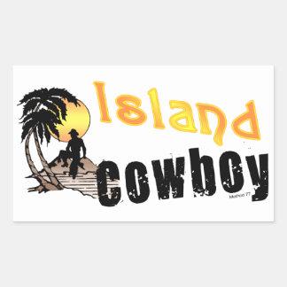 Island Cowboy Stickers